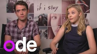 Download If I Stay: Chloe Grace Moretz and Jamie Blackley talk One Direction and Instagram stalking Video