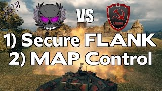 Download OMNI vs USSR - Tactic COMMENTED - Big PUSH then Spreading Out!   World of Tanks Clan Wars   Redshire Video