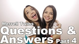 Download Merrell Twins - Questions & Answers part 4 Video