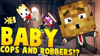 Download Minecraft BABY MODDED - Cops And Robbers Mod Video
