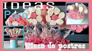 Download Ideas para tu mesa de postres Video