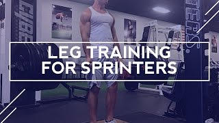 Download Sprinter Legs - Leg Training for Sprinters Video
