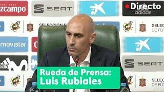 Download Luis Rubiales anuncia la destitución de Julen Lopetegui como seleccionador español Video