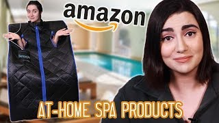Download I Built An At-Home Spa From Amazon Products Video