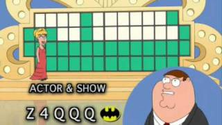 Download Family Guy - The Wheel Of Fortune Video