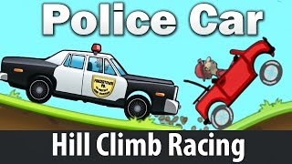 Download Police Car - Hill Climb Racing games : Cartoon Сars for kids Android HD Video