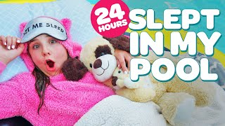 Download 24 HOUR CHALLENGE OVERNIGHT IN MY POOL (FUNNY) | Piper Rockelle Video
