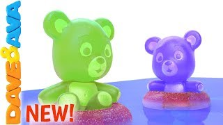 Download 😍 Five Little Gummy Bears | Learn to Count to Five with Dave and Ava 😍 Video