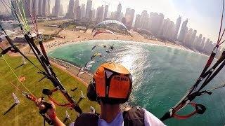 Download Sky Racers! - Dubai! - Flying in 4K - Paramotor Parabatix | DEVINSUPERTRAMP Video