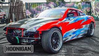 Download Formula Drift 1000hp Stroker r35 GTR Jerry Yang Racing // DT262 Video