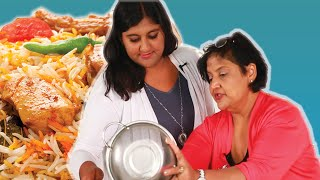 Download South Asians Learn To Cook Biryani With Their Moms Video