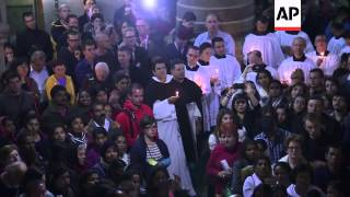Download Good Friday processions take place in the West Bank and Jerusalem Video