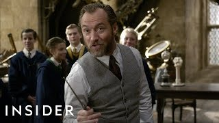 Download How Jude Law Was Cast As A Younger Dumbledore In 'Fantastic Beasts: The Crimes Of Grindelwald' Video