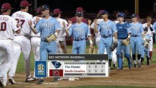 Download HIGHLIGHTS: Baseball vs. The Citadel — 3/20/18 Video