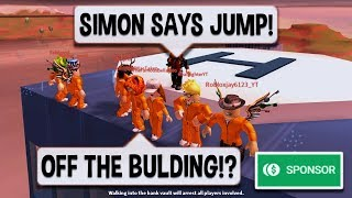 Download 🔴 Roblox Jailbreak SIMON SAYS!   WIN A $10 ROBUX CARD PRIZE!   SPONSOR   New CAR SPOILERS Update! Video