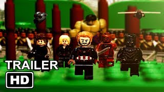 Download Avengers: Infinity War Official Trailer IN LEGO Video