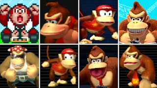 Download Evolution of Donkey Kong Series Characters in Mario Kart Games (1992-2017) Video