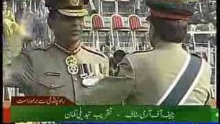 Download Musharraf resigns from Army, Kayani made Chief of Army Staff Video