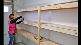 Download How to Build Garage Shelving - Easy, Cheap and Fast! Video