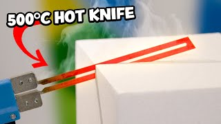 Download I used a HOT KNIFE to Sculpt FOAM! - Really Satisfying!! Video