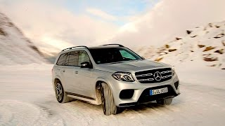 Download 2017 Mercedes Benz GLS 550 / GLS 500 FIRST DRIVE REVIEW in the snowy Austrian Alps Video