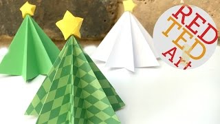 Download Origami Christmas Tree DIY - 3D Paper DIYs - Christmas Decor DIYs Video