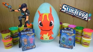 Download Huevo Gigante Bajoterra: Burpy – Slugterra Big Surprise Egg – Pistola + blister + pegatinas Video
