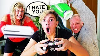 Download IGNORING MY PARENTS FOR 24 HOURS!! *Gone Too Far* Video