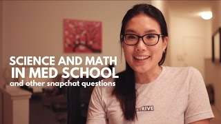 Download Is Science and Math Important in Med School? | Snapchat Q&A Session about Medical School Video