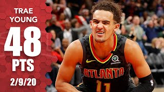 Download Trae Young records 48-point double-double in Knicks vs. Hawks | 2019-20 NBA Highlights Video
