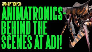 Download STARSHIP TROOPERS Animatronics Behind The Scenes ADI BTS Video