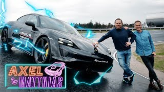 Download Porsche Taycan Turbo S on track |Was 1.050 NM & 761 PS mit uns machen |Axel & Matthias Video