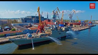 Download USC — the largest shipbuilding company in Russia: naval equipment Video