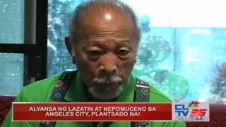 Download ALYANSA NG LAZATIN AT NEPOMUCENO SA ANGELES CITY, PLANTSADO NA! Video