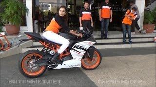 Download 2015 KTM RC390 media short test ride Video