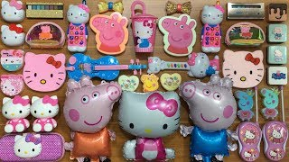 Download SPECIAL SERIES PEPPA PIG & HELLO KITTY SLIME | Mixing Too Many Things into Clear Slime | Tom Slime Video