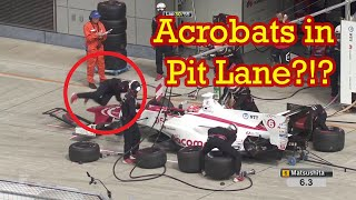 Download Crazy Acrobatic Pit Stops in the Super Formula Series Video