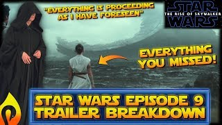 Download Everything You Missed in the Star Wars Episode 9 Trailer: Trailer Breakdown The Rise of Skywalker Video