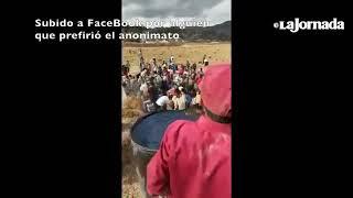 Download Ciudadanos rompen ducto de Pemex Video