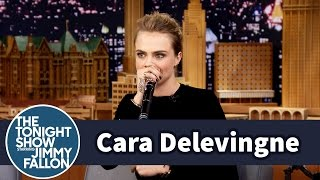 Download Cara Delevingne Spits a Sick Freestyle Beatbox Video
