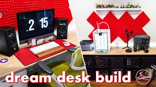 Download How To Build A DIY Plywood ″Dream″ Desk & My Video Editing Desk Setup Video