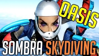 Download Overwatch OASIS SOMBRA SKYDIVING Video
