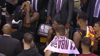 Download New UNSEEN LeBron, JR Smith REACTION From Bench After Game 1 Dumb Mistake Video