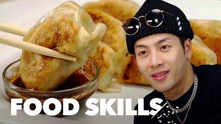 Download Jackson Wang Learns How to Make Dumplings | Food Skills Video