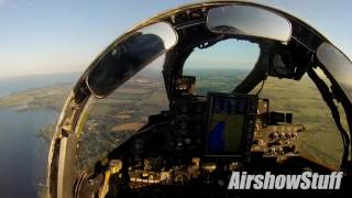 Download F-4 Phantom Helmet Cam - Flybys and Landing at EAA AirVenture Oshkosh 2016 Video