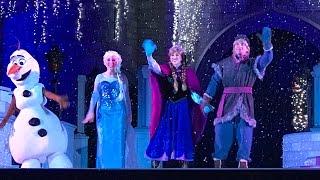 Download 2016 A Frozen Holiday Wish CASTLE LIGHTING 4K ULTRA HD, Magic Kingdom Disney World Video