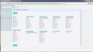 Download PHP Admin Panel - roles and privileges Video