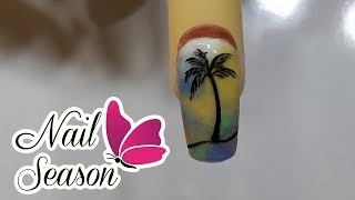 Download Uñas para verano con base de acrilico paso a paso 2017 Video