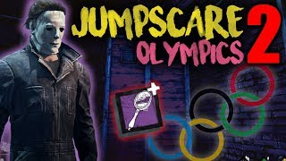 Download JUMPSCARE OLYMPICS 2 - The Shape - Dead by Daylight with HybridPanda Video