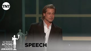Download Brad Pitt: Award Acceptance Speech | 26th Annual SAG Awards | TNT Video